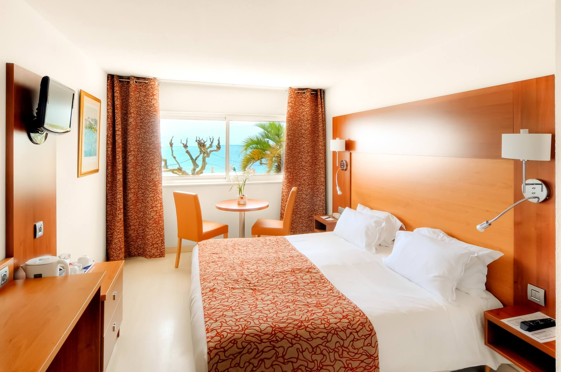 Continental sea side double room